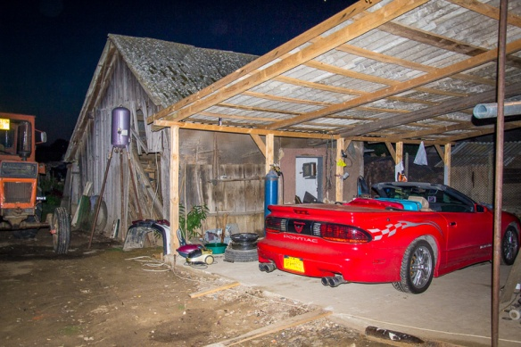 "Top Down Trans Am in Piscolt ""garage"""