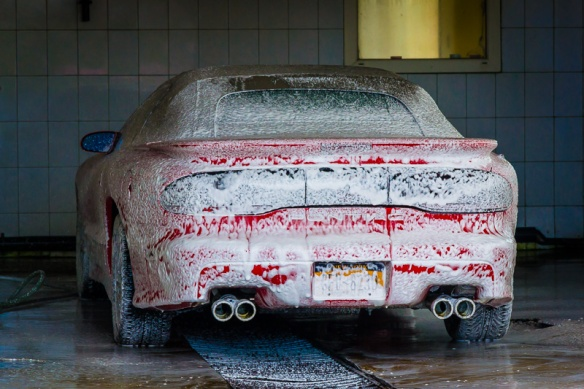 Feeling dirty... getting a wash!